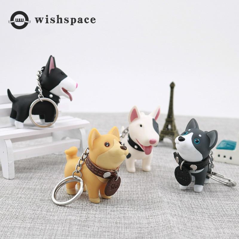 The European and American popular cartoon cute puppy fashion handbag vehicle hang key chain