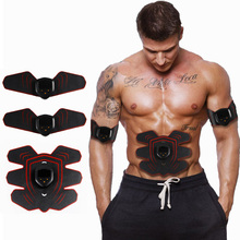 Rechargeable Muscle Stimulator Body Shaping Slimming Massager EMS Trainer Abdominal Arm Leg ABS Stimulator font b