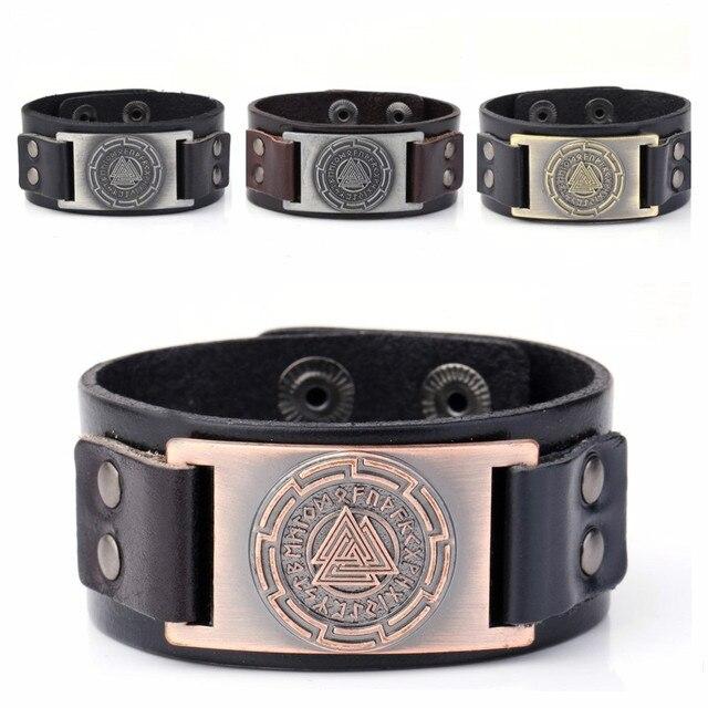 Skyrim Wicca Jewelry Viking Bracelets Odin 24 Norse Runes Slavic