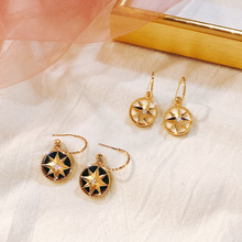 2019 New Korean Personality Temperament Earrings Baroque Belt Retro-classic Female Elegant Fashion
