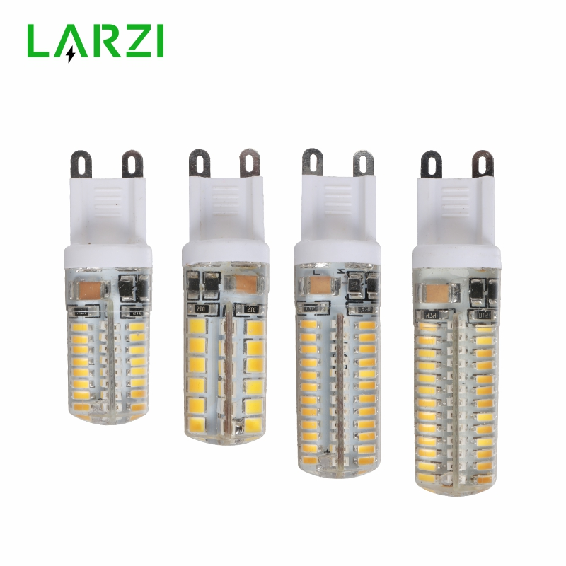 LARZI G9 Led 220V 2W 3W 4W 4.5W LED G9 Lamp Led Bulb SMD 2835 3014 LED G9 Light Replace 20W/30W/40W/50W Halogen Lamp Light