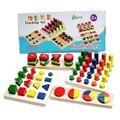 8 в 1 Высокое Качество 1.5 КГ Игрушки Обучение Детей Геометрической Формы Развития Деревянный 3D Пазлы Развивающие Игрушки для Детей