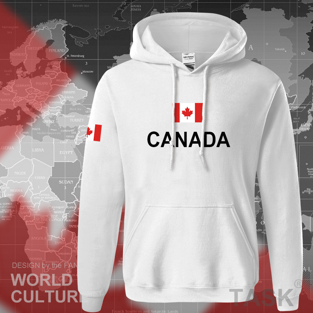 Canada 17 hoodies men sweatshirt sweat new streetwear clothing jerseys footballer tracksuit nation Canadians flag fleece CA 11