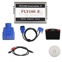 Newest Version FLY 100 Generation 2 With Factory Price FLY100 G2 for Honda Scanner FLY 100 G2 DHL Free Fast In Stock Now