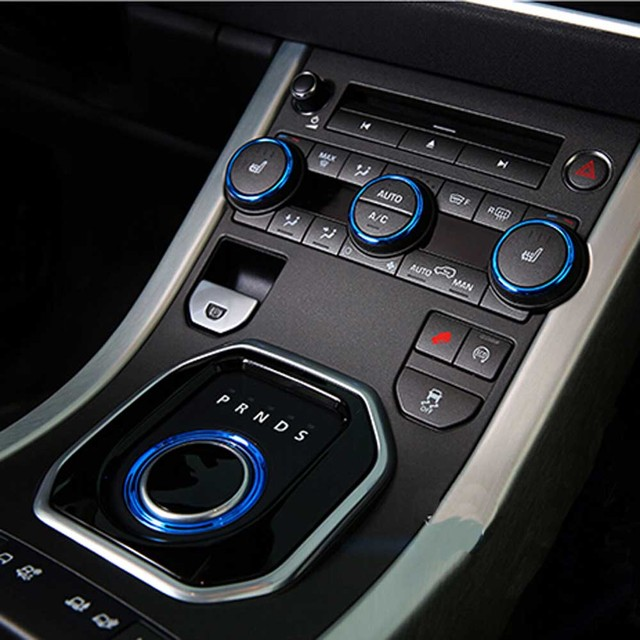Interior Mouldings Accessories for range rover evoque Console air ...