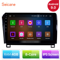 Seicane Android 9.0 IPS 10.1 inch 8 CORE RAM 4GB For 2006 2014 Toyota Sequoia Car GPS Navigation Radio Stereo Head Unit Player