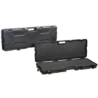 Gun Guard All Weather 42 Gun Storage Case Black Waterproof ABS 113x36x13 cm Injection With Foam for Shotgun
