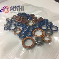 Trx 4 Hobby Model RC Car Assembly Ball Bearings For 1/10 Traxxas TRX4 Bearing Set ( Total 40 Pcs )