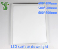 10pcs/lot 32W 36W 48W led round/square panel light 400*400mm 500*500mm 600*600mm surface down light AC85 265V with drier