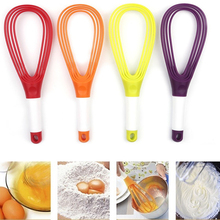 Multi-function manual rotary mixer eggbeater kitchen tool