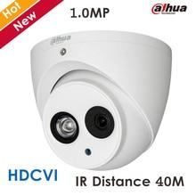 Original Dahua 1MP DH-HAC-HDW1100E-A HDCVI Camera HD Network IR security cctv Dome Camera IR distance 40m HAC-HDW1100E-A