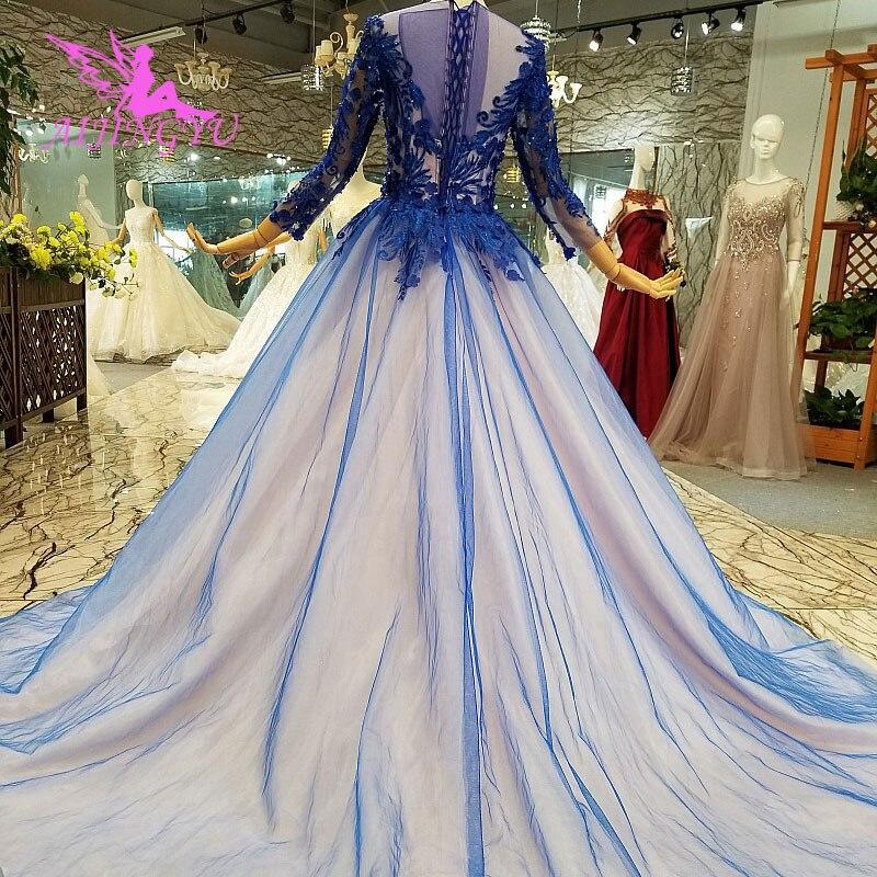 AIJINGYU Garden Wedding Dresses White Gowns Plus Size