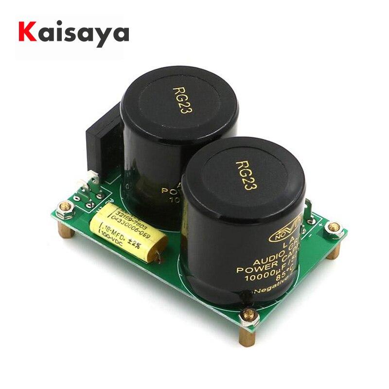 Усилитель мощности, выпрямитель, фильтр, лихорадка, конденсаторный усилитель, аудио Плата источник питания выпрямителя NOVER 10000 мкФ 50V amplificador