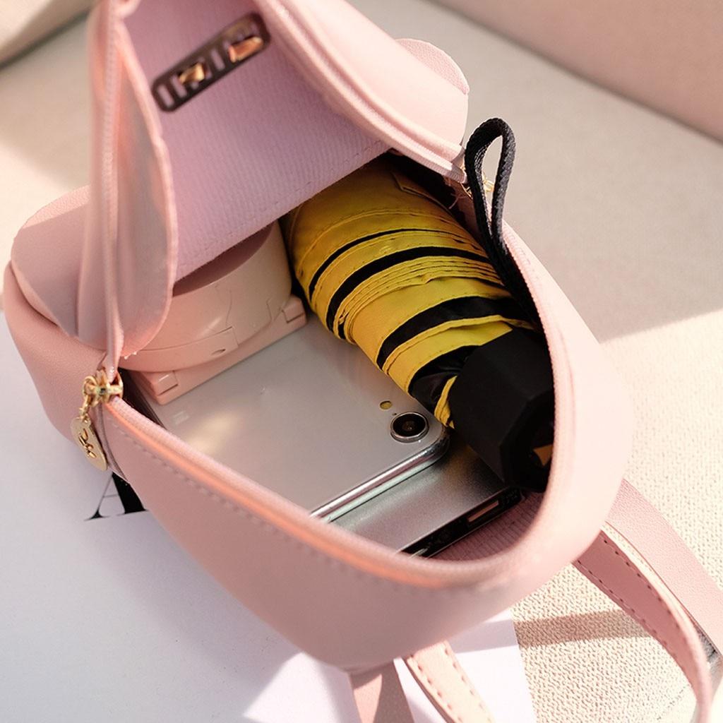 HTB1LEWiNbrpK1RjSZTEq6AWAVXaU Convenient fashion Travel Fashion Lady Shoulders Small Backpack Letter Purse Mobile Phone mochilas Canta