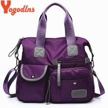 Yogodlns Nieuwe Collectie Nylon Vrouwen Messenger Bags Casual Grote Capaciteit Dames Handtas Vrouwelijke Crossbody Schoudertassen Waterdicht