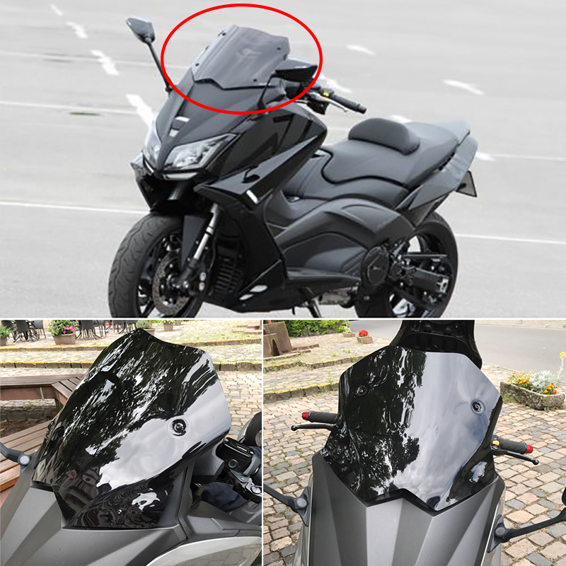 for yamaha tmax 530 2012 2013 2014 windscreen windshield deflectors tmax 530 t max 530 12 14. Black Bedroom Furniture Sets. Home Design Ideas
