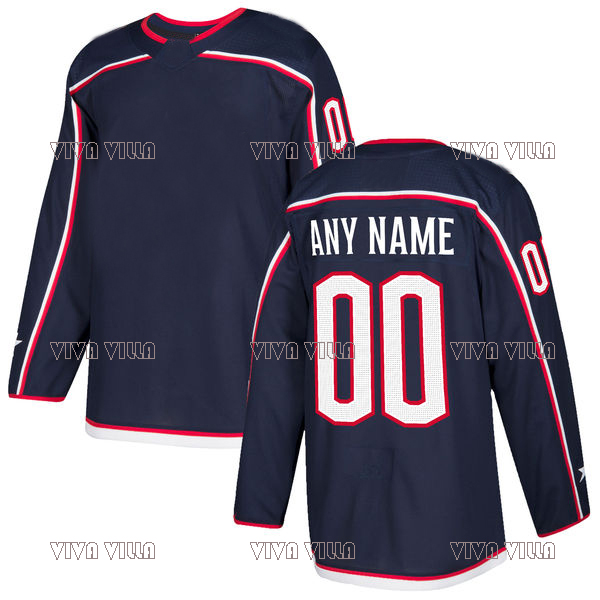 71 Nick Foligno New Hockey Jersey 72 Sergei Bobrovsky 13 Cam Atkinson Stitched Custom Men Ice Hockey Jersey S-4XL Free shipping