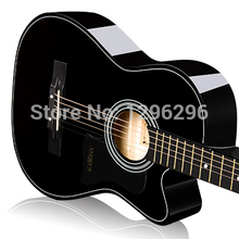 free shipping Ballads andrew 38inch  guitar musical instrument acoustic guitar length of the 96cm