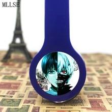 MLLSE Anime Tokyo Ghoul Mutsuki Toru Headphones Earphone Microphone Phone Stereo Game Headset for Iphone Samsung Ipod MP3 PSP