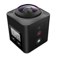 Hdking V2 Mini DV черный Wi-Fi HD водонепроницаемый шлем H.264 1080 P 30fps 360 градусов панорамный экшн-камеры