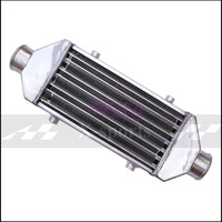 Car Cooling System Turbo Parts Radiator Intercooler Front Mount Universal High Quality Aluminum Silver Core Body 300*160*65