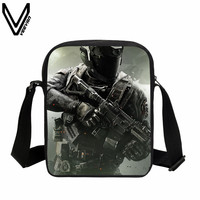 VEEVANV 2017 Hip Hop Messenger Bags Call Of Dutys School Bag Kids Teenagers Casual Crossbody Bags