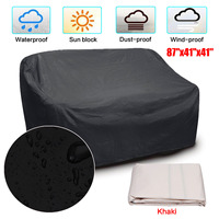 87''x41''x41'' Dustproof Cover Furniture Sofa Piano Table Chair Washing Machine Cover Waterproof Dust Proof Cover Black Khaki