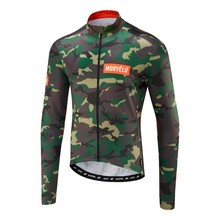 Spring/Autumn Morvelo Cycling Jersey long sleeve men's cycling jersey Bike bicycle clothes Clothing Ropa Ciclismo цена