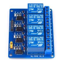 20PCS  4Channel New 4 Channel Relay Module Relay Expansion Board  12V Low Level triggered 4Way Relay Module for Arduino