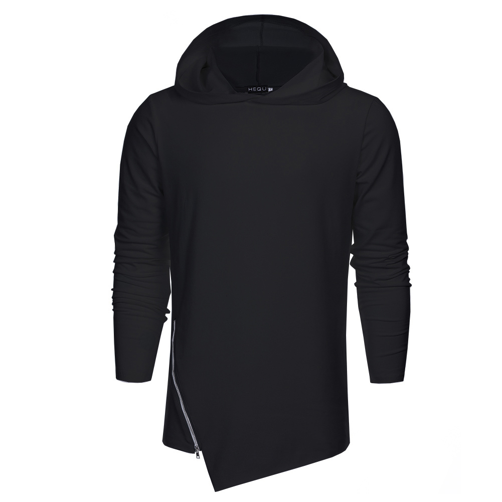 2XL Fashion Brand Hoodies Men Sweatshirt Male Zipper Hooded Pullovers Casual Sportswear Casual 2 colors Outwear