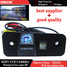 FUWAYDA HD sony CCD chip RearView Camera backup reverse parking camera night vision for Hyundai SANTA FE / Azera / Santafe