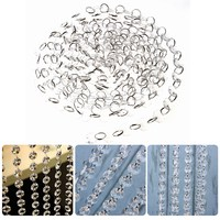 10 m/33 FT Crystal Clear Bead Hanging Decoration Window & Door Curtains Acrylic Beads Garland Chandelier Wedding Supplies