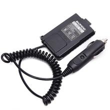 2 قطعة Baofeng UV 5R البطارية المزيل شاحن سيارة UV 5R راديو محمول ل baofeng UV 5RA 5RE