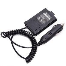 2 sztuk Baofeng UV 5R Eliminator baterii ładowarka samochodowa UV 5R Radio przenośne dla baofeng UV 5RA 5RE