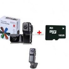 Copertina Hot Portatile di Sport della Macchina Fotografica HD MD80 Mini DV DVR MD 80 Videocamere Con I Titolari Corda Supporto 8GB 16GB reale Capacità della scheda Micro TF Carta di DEVIAZIONE STANDARD