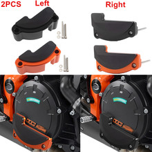 2Pcs Right & Left Motorcycle Engine Stator Cover Protective Case Slider Guard Protector For KTM 1290 Super Duke R GT RC8 New