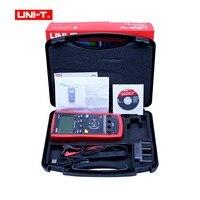 Цифровой LCR метр UT611/612 цифровой мост тестер емкость индуктивность Сопротивление частотомер USB Интерфейс