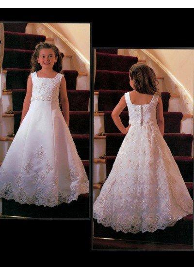 Little   Girl   Party Gowns vestidos de comunion a-line   Flower     Girl     Dresses   for Weddings Kids Formal Pageant   Dresses