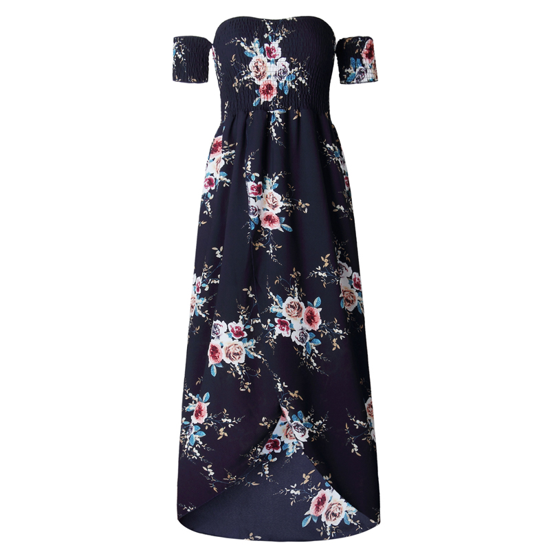 HTB1LE pSXXXXXbEXXXXq6xXFXXXf - Long Dress Women Off Shoulder Floral Print Vintage JKP043