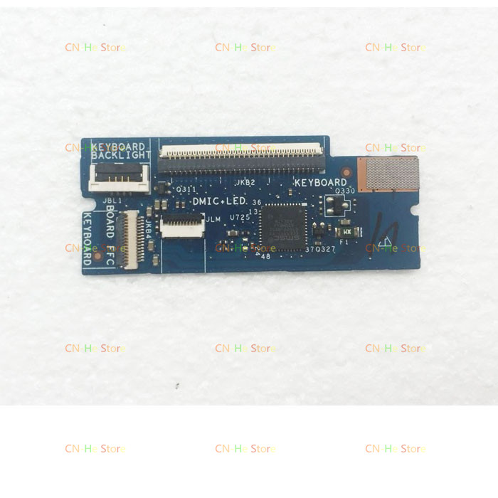 JOUTNDLN FOR Brand Laptop <font><b>Keyboard</b></font> Connector Board For <font><b>Dell</b></font> XPS 15 9550 9560 9570 Precision <font><b>5510</b></font> 5520 5530 M5510 0X5G92 X5G92 image