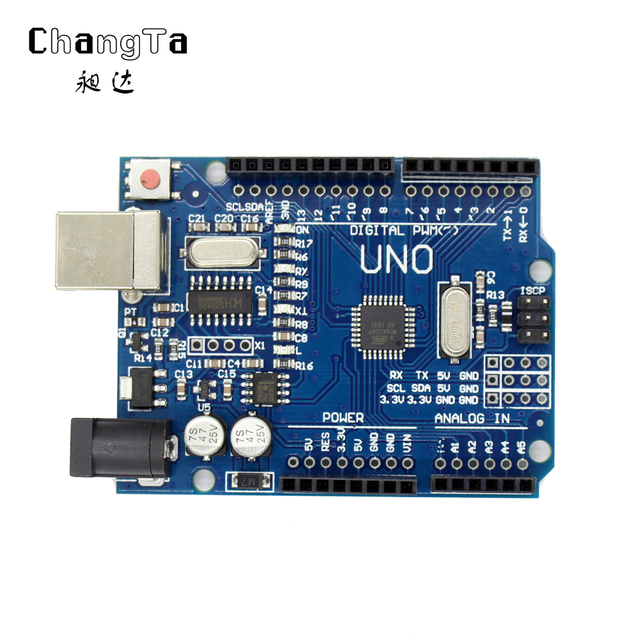 changta 10pcs for arduino uno r3 unor3 mega328p ch340 development rh aliexpress com