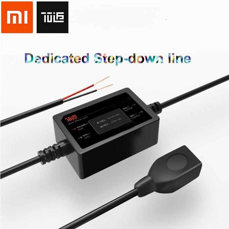70 Mai Universal Car Buck cable duro línea modificada para vehículo DVR inteligente espejo retrovisor caja de fusibles con interfaz USB