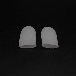 Image 4 - 1 пара, силиконовые выпрямители для пальцев ног