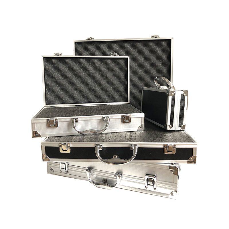 Aluminum Alloy Tool Case Profile Tool Box Portable Safety Equipment Instrument Case Outdoor Impact Resistant Toolbox With Sponge