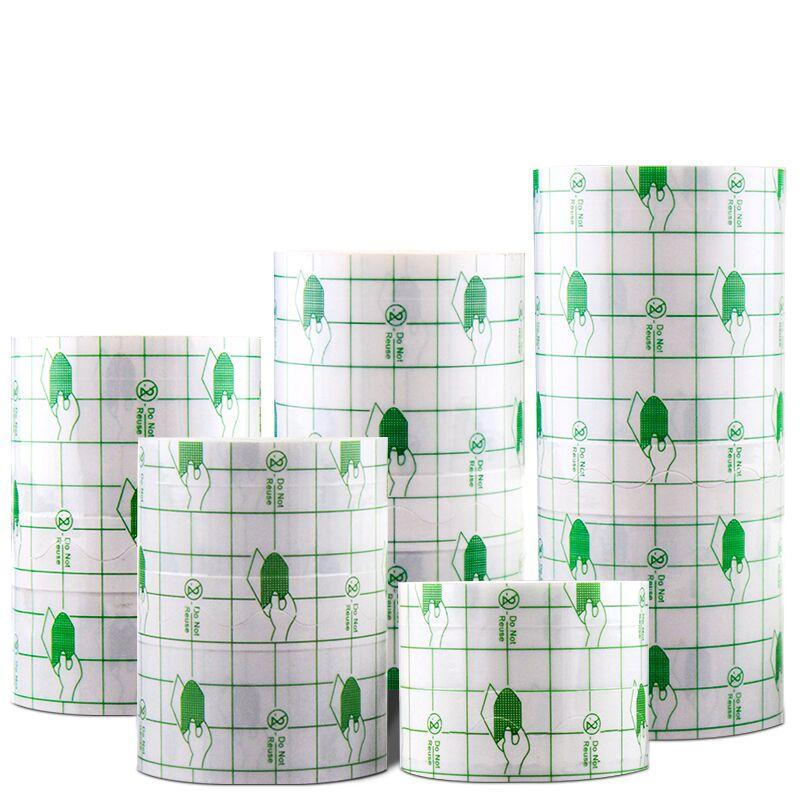 1 Roll  Waterproof Medical Transparent Adhesive Tape Bath Anti-allergic Medicinal Pu Membrane Wound Dressing Fixation Tape