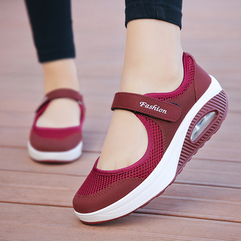 New Women Light Air Running Shoes Summer Breathable Mesh Female Sneakers Trainers Walking Outdoor Sport Comfortable running shoes for women air cushion breathable sneakers women shoes sport shoes woman outdoor trainers walking jogging 2018 new