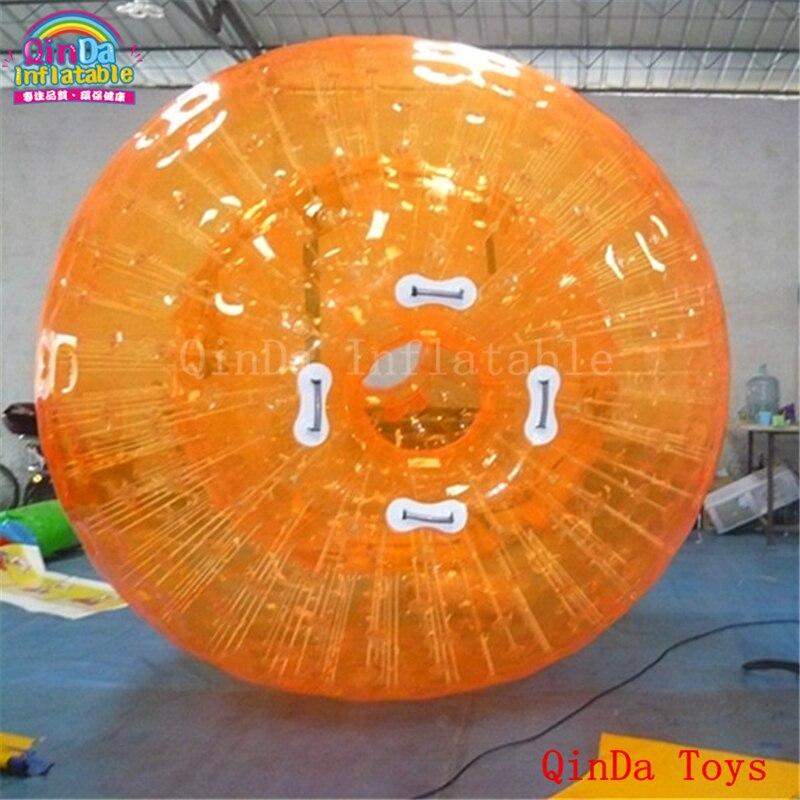 Boule gonflable de zorb de hamster avec 1 pompe à air libre, boule bouclée de taille humaine, boule gonflable de zorb de globe pour des jeux d'enchevêtrement