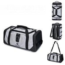 OZUKO Men Travel Duffle Bag  Multifunctional High Capacity Waterproof Oxford Luggage Handbags Carry On Weekend Bags for Trip