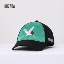 NUZADA Brand snapback Hat Baseball Caps Hats Hip hop Fitted Hats For Men Women Cotton Casual Caps Bone Hats New Embroidered Hat цена