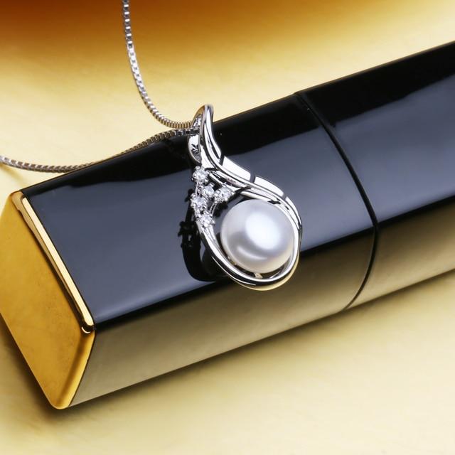 FENASY Rubino di Boemia Collana di Perle Gioielli collane & pendenti fiore Gioielli, collana donne collana 925 per le donne